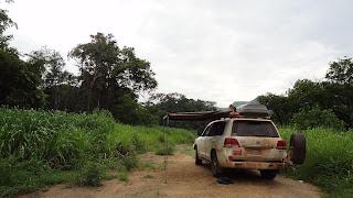 Wildcampen in Angola, wie findet man ein sicheres geschütztes Camp?