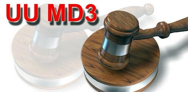 UU MD3 Resmi Berlaku, Warganet Takut Jadi Korban