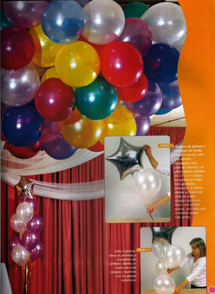 Revista decoraci n con globos revistas de manualidades for Revistas de decoracion gratis