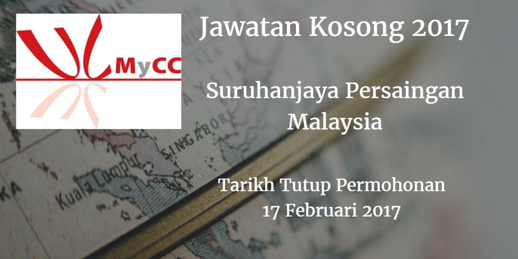 Jawatan Kosong MyCC 17 Februari 2017