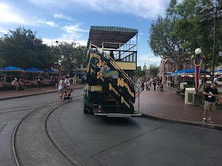 Disneyland Omnibus Stairs