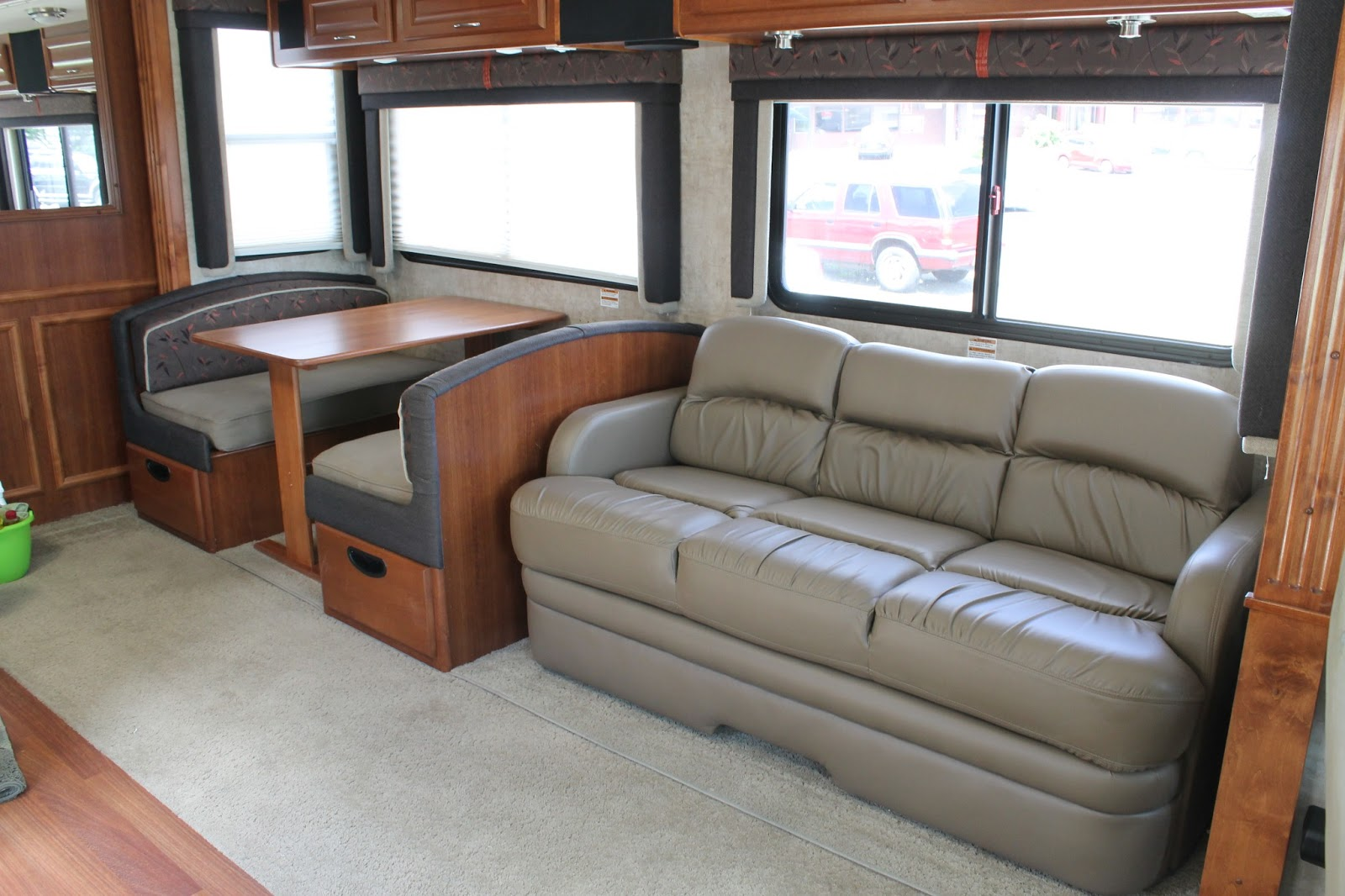 Jackknife Sofa Bed Mart El Paso Tx Countryside Interiors - Transforming Rvs And Trailers ...