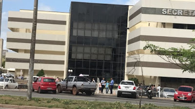 Terremoto em São Luís: Servidores da Sefaz evacuam prédio