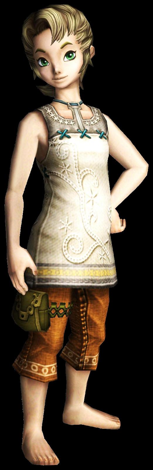 Ilia from The Legend of Zelda Twilight Princess by lonelyteddy on DeviantArt