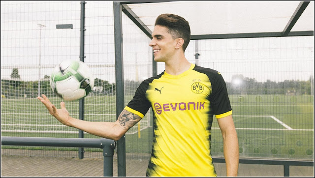 Borussia Dortmund 17-18 Champions League Kit