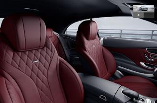 Nội thất Mercedes S500 Cabriolet 2016 màu Đỏ Bengal 977