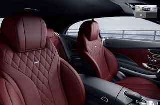 Nội thất Mercedes S500 Cabriolet 2018 màu Đỏ Bengal 977