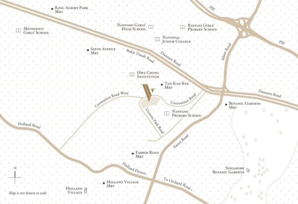 Victoria Park Villas Location