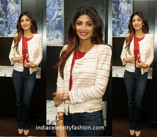 Shilpa Shetty in Isabel Marant