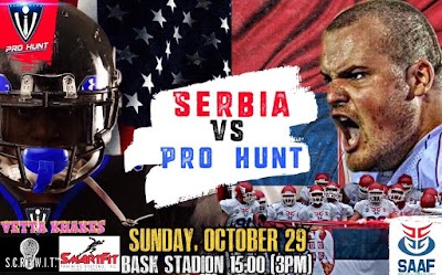 Serbian National Team To Play A Friendly Vs Pro Hunt [LiveStream]