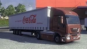 Coca Cola Trailer for ETS2 version 1.4.8