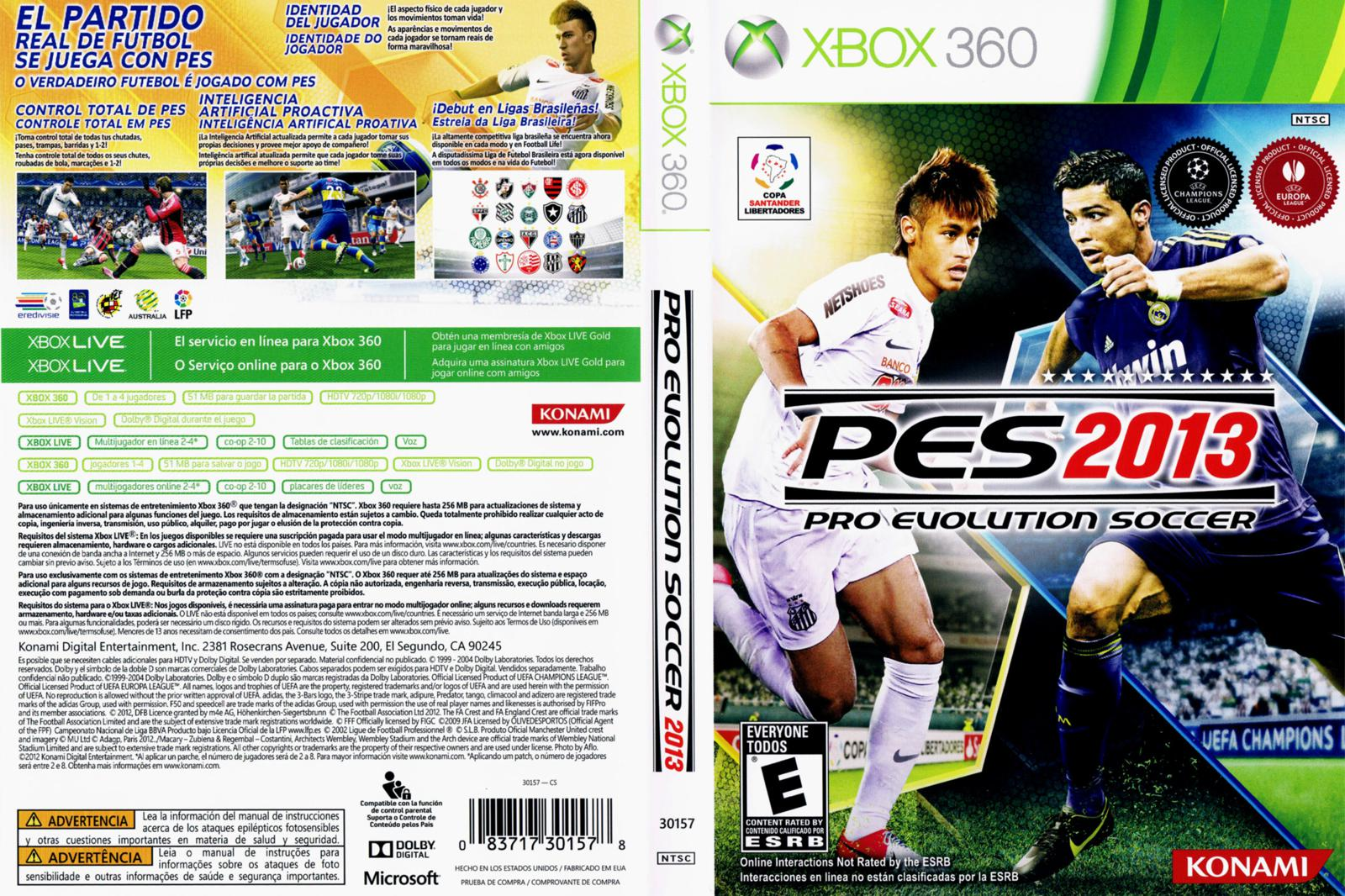 Infinity Pro Evolution Soccer 2013 Xbox 360 Pes 2013 Torrent