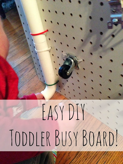 DIY Toddler Busy Board!