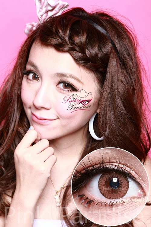 EOS Fairy Brown Circle Lenses (Colored Contacts)