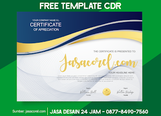 Sertifikat CDR Download Gratis