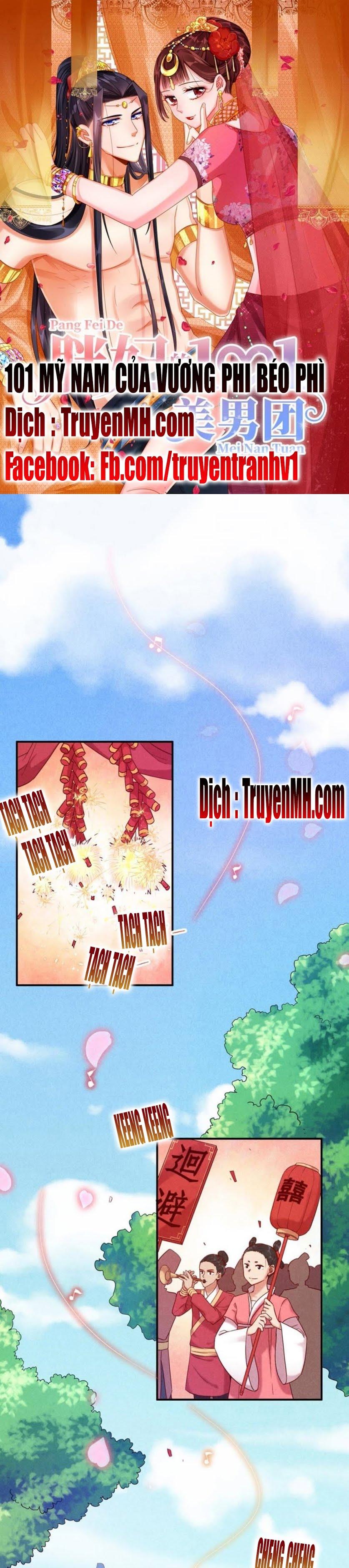 101 Mỹ Nam Của Vương Phi Béo Phì chap 2 - Trang 2