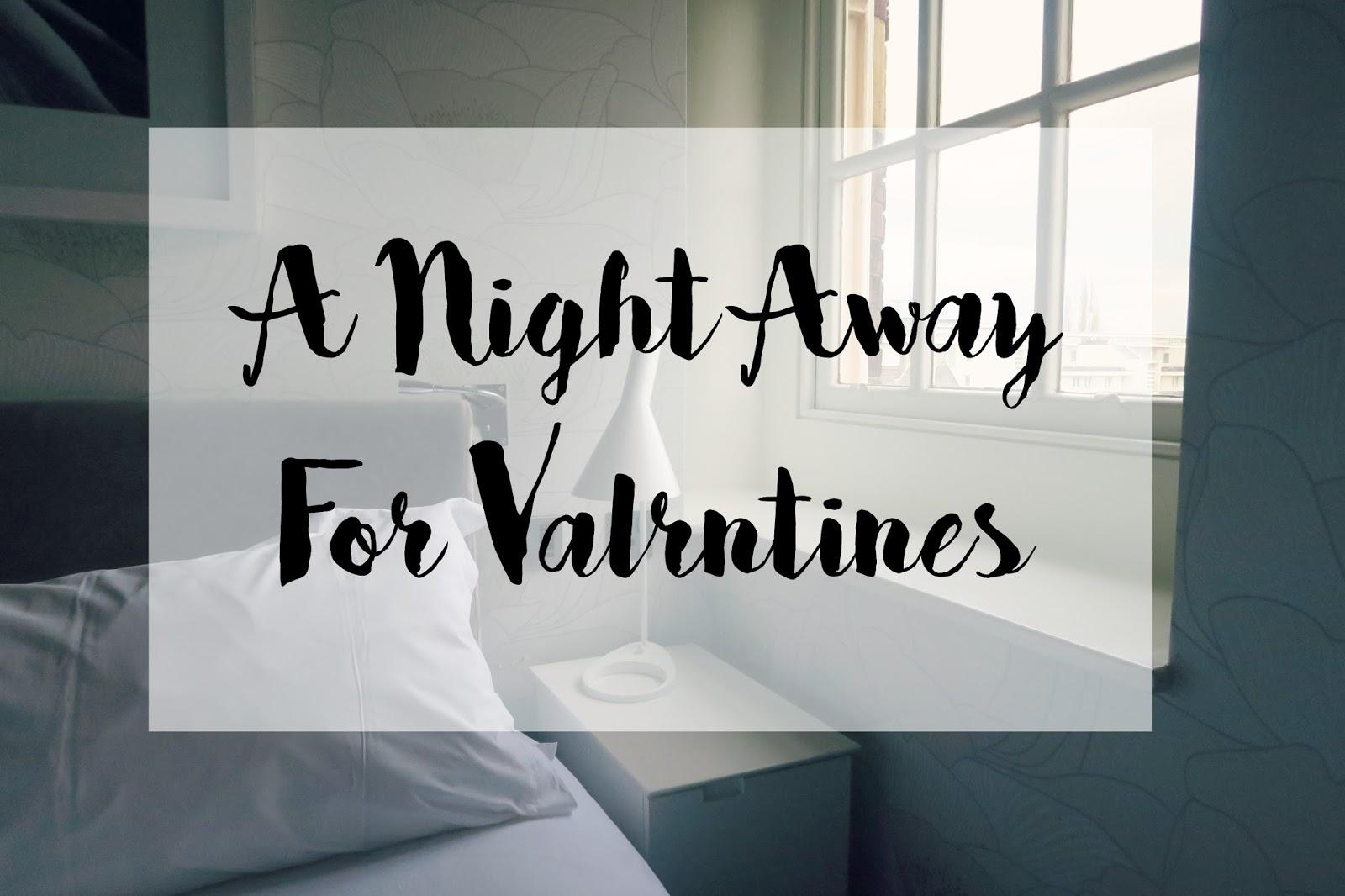 Valentines night away deals