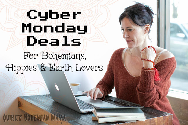 #CyberMonday2017 #CyberMonday -  Awesome 2017 Cyber Monday Sales and Deals  for Bohemian and Hippies. Black Friday weekend sales. Thanksgiving weekend sales.  Eco freindly cyber monday, Etsy cyber monday 2017, fair trade cyber monday 2017
