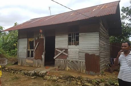 FKAN Pauh IX Bakal Bangun Dua Unit Rumah Permanen Type 42 Untuk Warga Kurang Mampu
