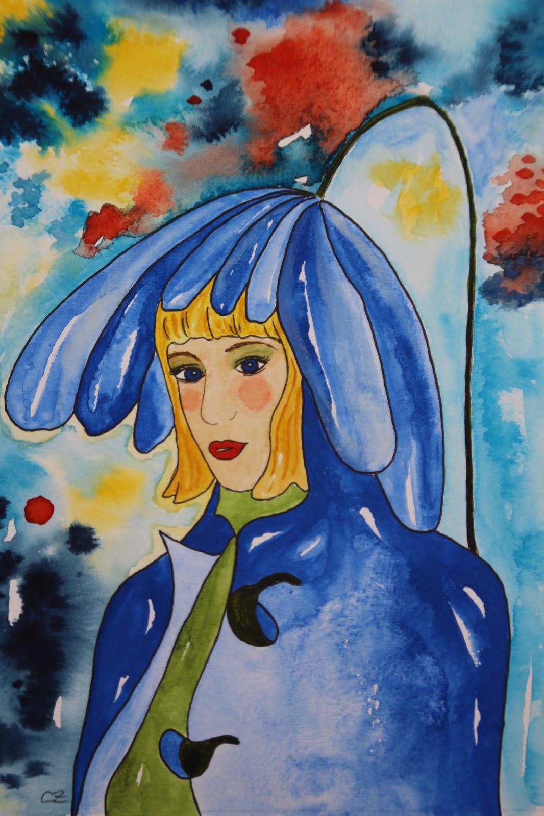 balkansippa akvarell carolin zander