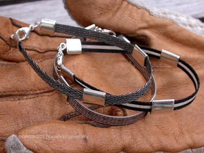 salmi nannasalmi pferdehaarschmuck jouhikoru horsehair jewelry