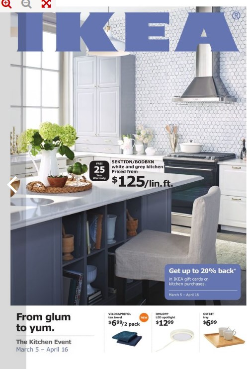 Ikea Flyer March 5 April 6 2018 The Kitchen Event