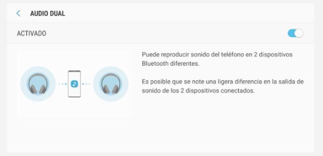 Reproducir vía bluetooth el audio en dos dispositivos diferentes