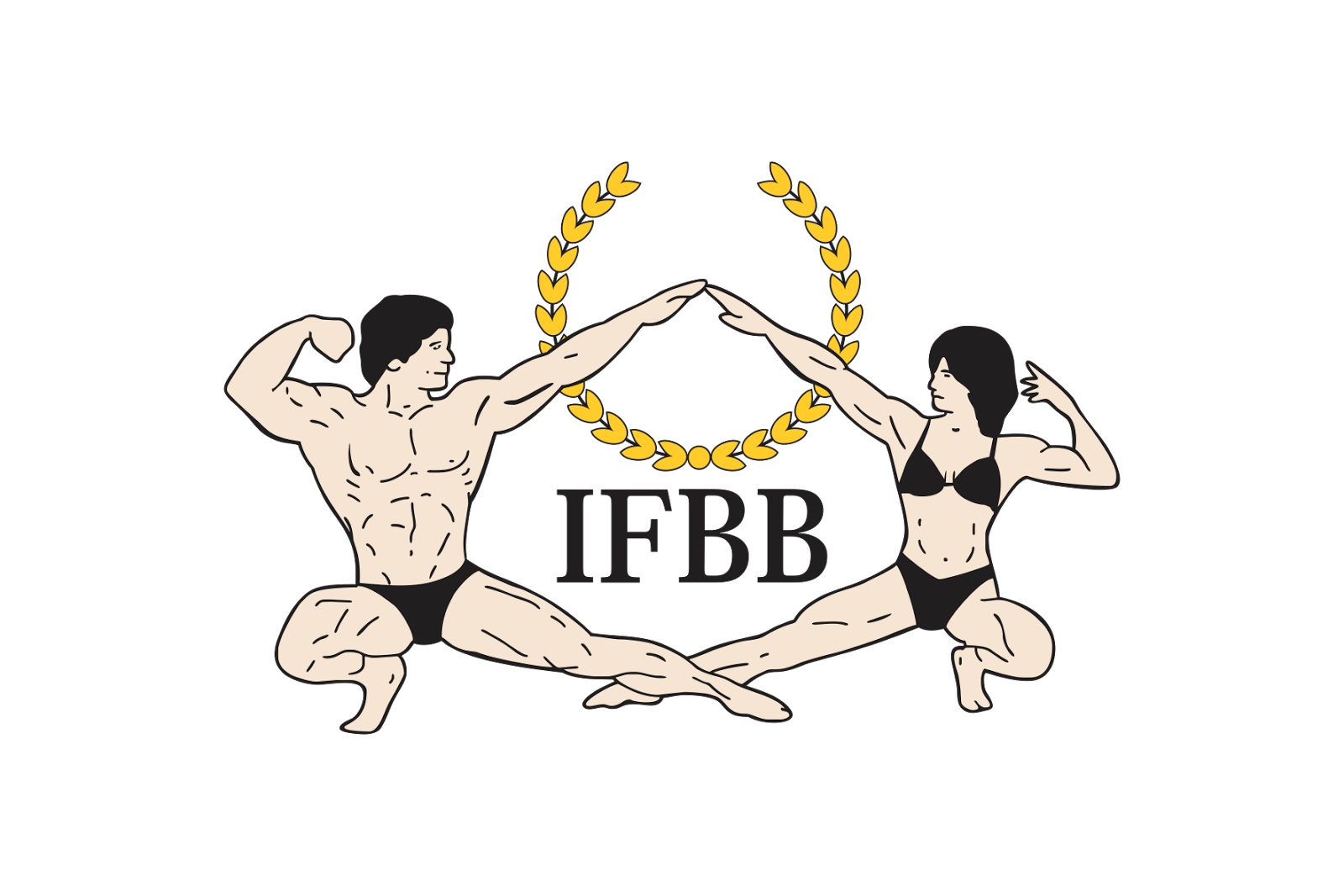 Fitness Logo Vector Png International Federation Of Bodybuilding And Fitness Logo