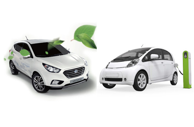 voiture electrique vs voiture hydrogene