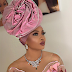 Toke Makinwa Absent In Dubai, Attends Another Friend's Wedding In Lagos