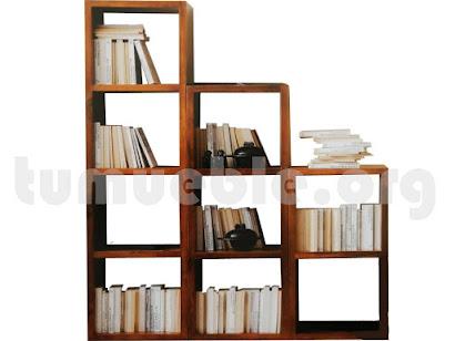 mueble estanteria en teca 4134