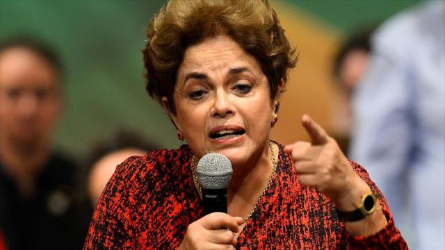 Rousseff: Mi juicio es una farsa tejida por la élite económica