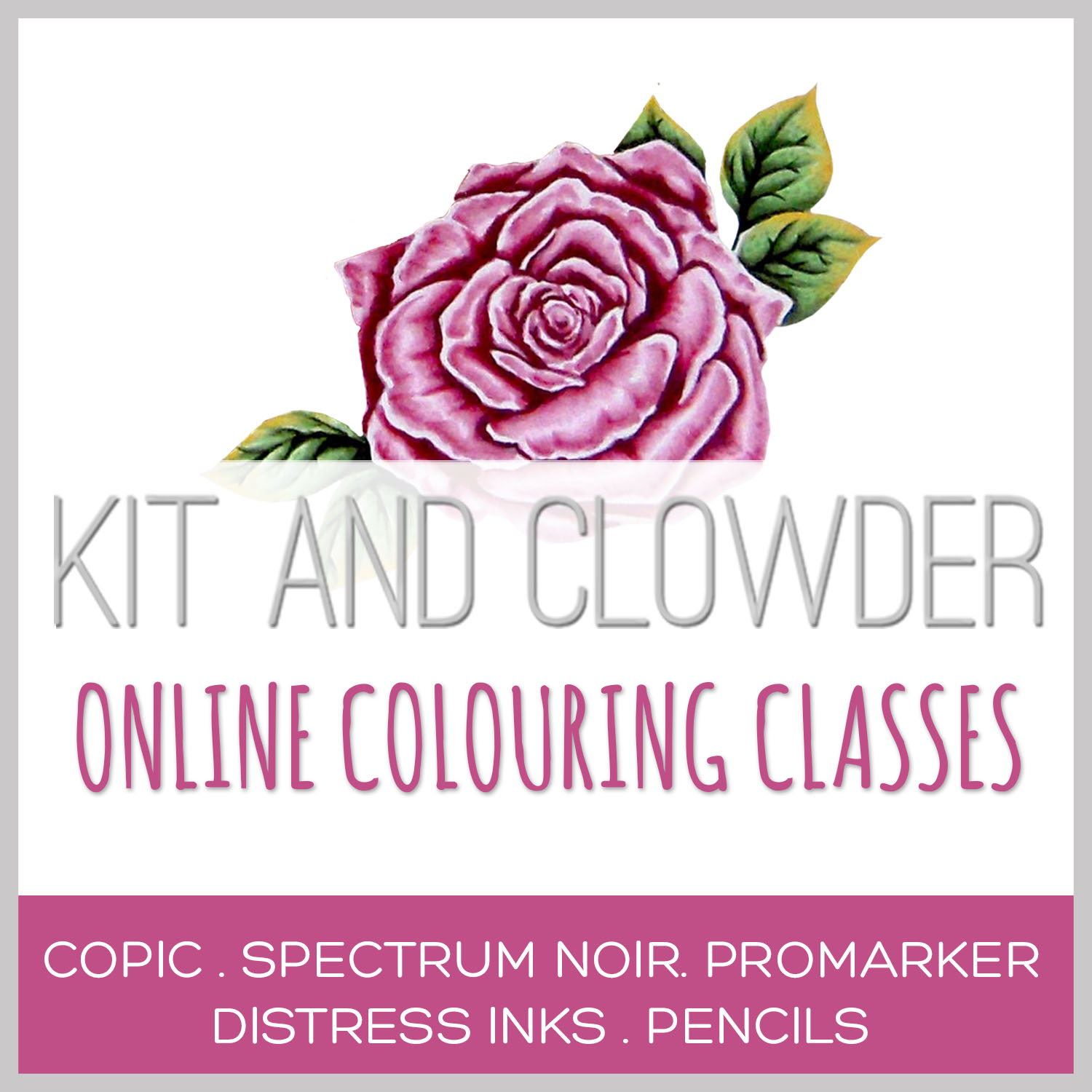 Online colouring class
