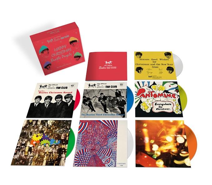 ビートルズからのクリスマスプレゼント レコードとハイレゾ配信 2017年12月15日リリース