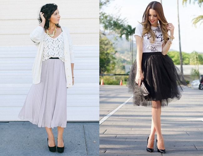 Eight Style Tips of Midi Skirts | Fashionable and Trendy Midi Skirts
