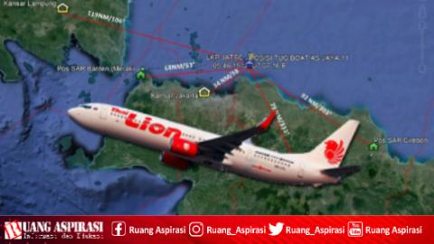 Kronologi Jatuhnya Pesawat Lion Air JT-610 Rute Jakarta-Pankal Pinang