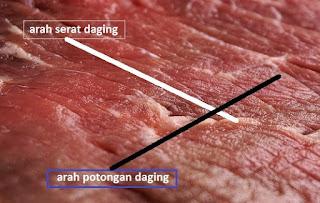 cara masak daging agar empuk