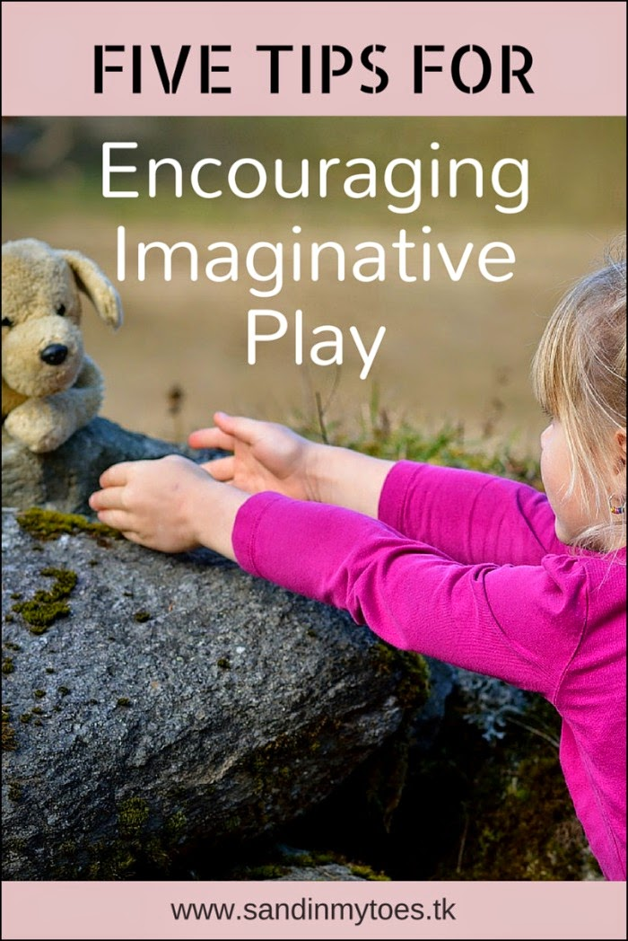Five tips for encouraging imaginative play in your child.