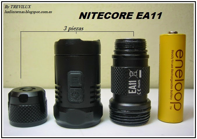 Nitecore EA11 review by Trevilux