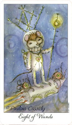 Joie De Vivre Tarot Paulina Cassidy  eight of wands