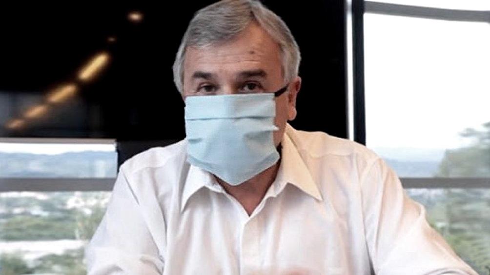 El gobernador Gerardo Morales anuncia su alta médica
