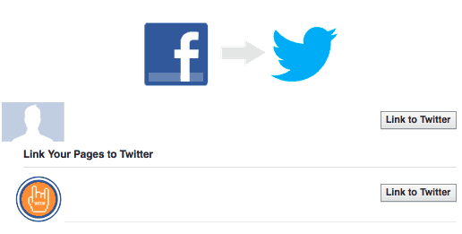 Connecting Facebook Page To Twitter<br/>