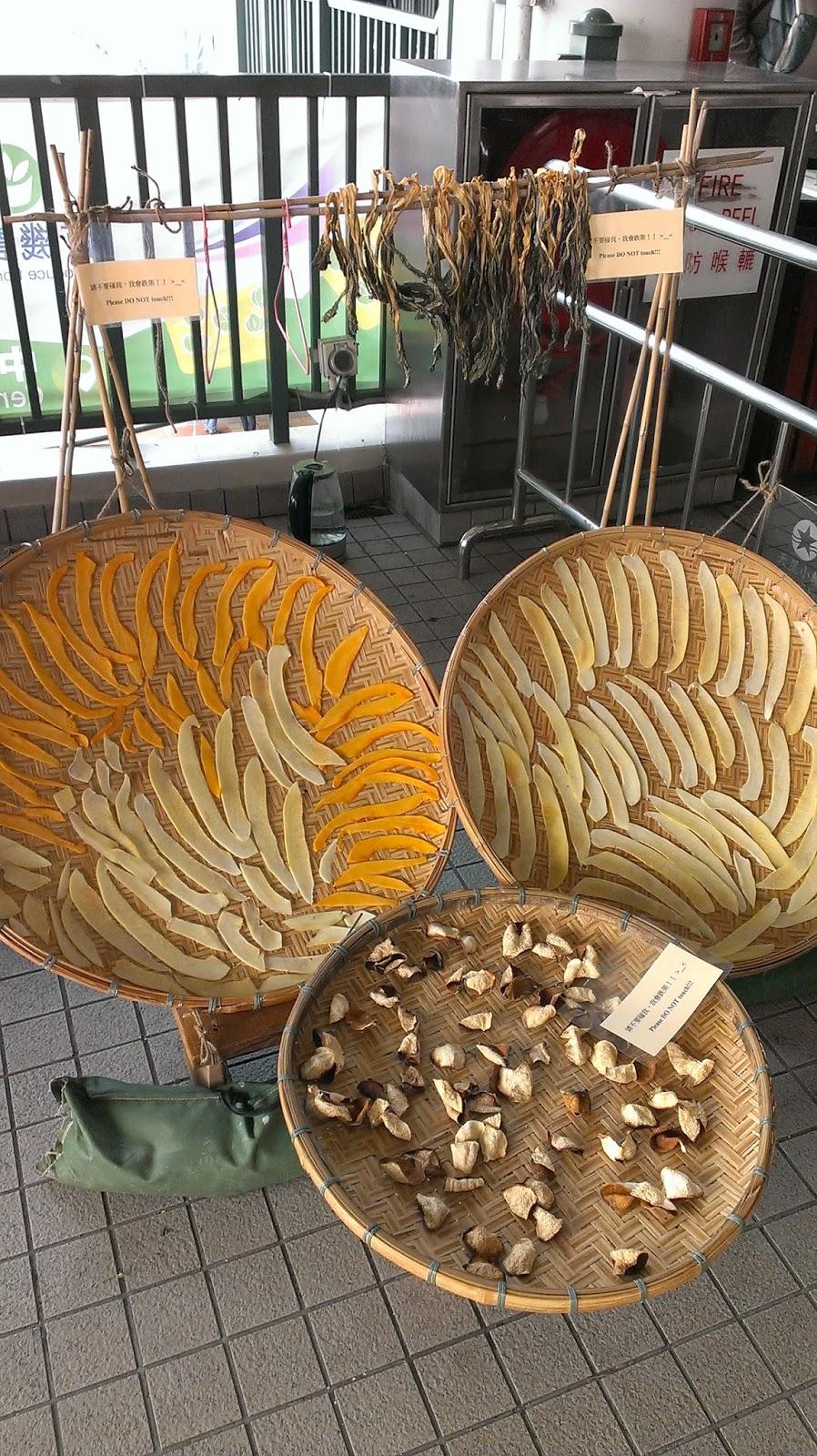 V. Cristo 素阿圖: 自製菜乾和菜甫……沒完成的……