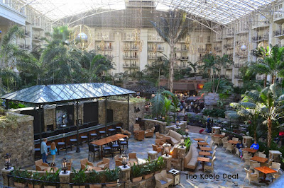 Restaurant inside Opryland Resort and Convention Center Nashville, Tennessee