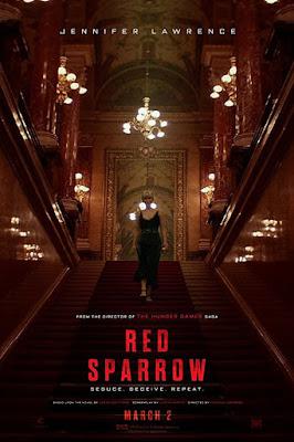 Sinopsis Film Red Sparrow - Antara Tugas dan Cinta Dua Intelijen Berbeda