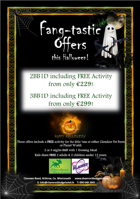 Fang-tastic Family Breaks this Halloween at The Shamrock Lodge Hotel!