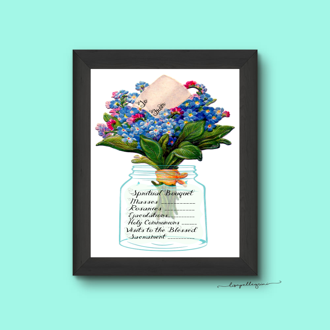 Christian Study Tools Spiritual Bouquet T Card Free