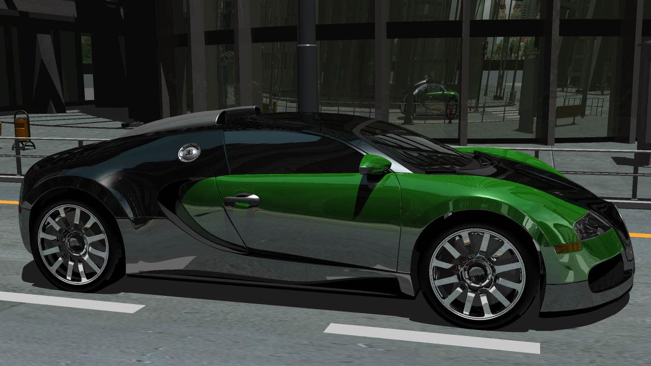 Green Sports Car Wallpaper