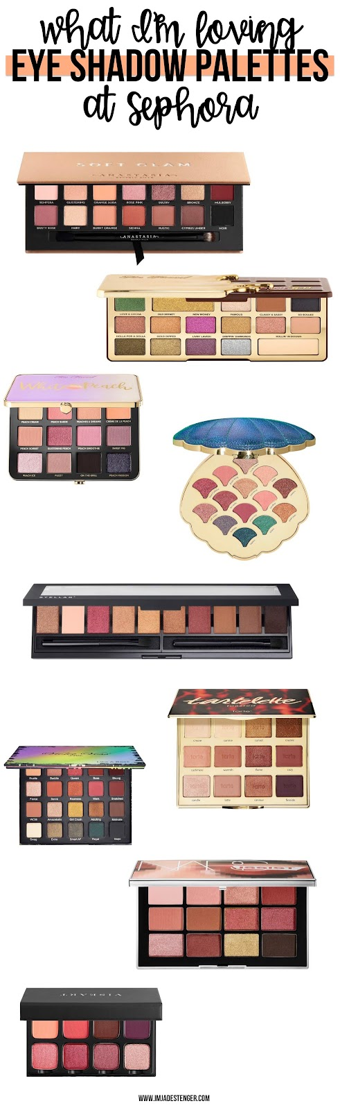 What I'm Loving Tuesday: Eye Shadow Palettes at Sephora