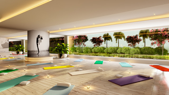 Khu vực Yoga sunshine Center